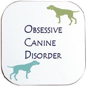 POINTER / WEIMARANER HOUND / DOG COASTER