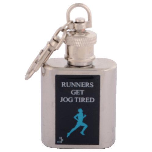 RUNNING / JOGGING - KEYRING HIPFLASK