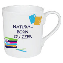NATURAL BORN QUIZZER MUG