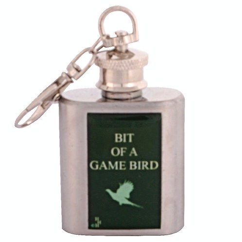 GAME BIRD / SHOOTING - KEYRING HIPFLASK
