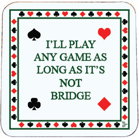 BRIDGE COASTER NOT BRIDGE