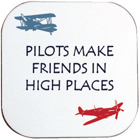 PILOTS MAKE FRIENDS IN HIGH PLACES COASTER