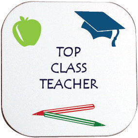 TOP CLASS TEACHER COASTER