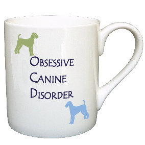 AIREDALE TERRIER DOG MUG