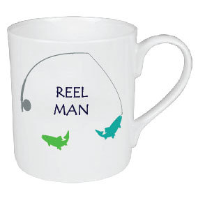 REEL MAN FISHING MUG