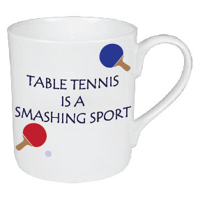TABLE TENNIS/PING PONG MUG