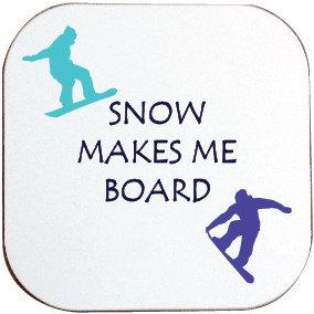 SNOWBOARDING COASTER