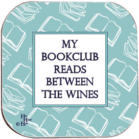 BOOK COASTER - MY BOOKCLUB READS BETWEEN THE WINES