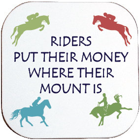 RIDERS PUT THEIR MONEY COASTER