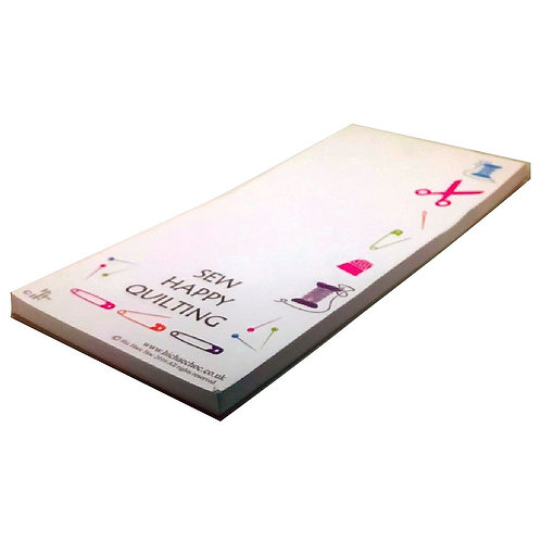 SEW HAPPY QUILTING MAGNETIC SHOPPING LIST