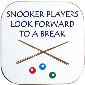 SNOOKER COASTER