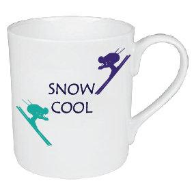 SNOW COOL SKIING MUG