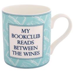 Funny bookclub mug