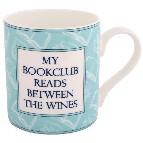 BOOK MUG - MY BOOKCLUB READS BETWEEN THE WINES
