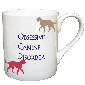 IRISH WOLFHOUND DOG MUG