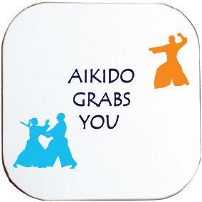 AIKIDO GRABS YOU COASTER