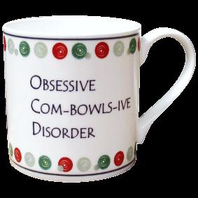 OBSESSIVE COM-BOWLS-IVE MUG
