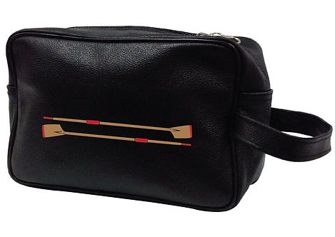 ROWING BLADES LEATHER WASHBAG
