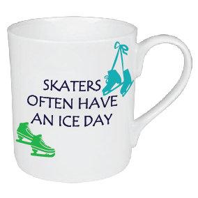 ICE SKATING MUG