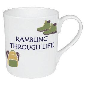 RAMBLING THROUGH LIFE / HIKING MUG