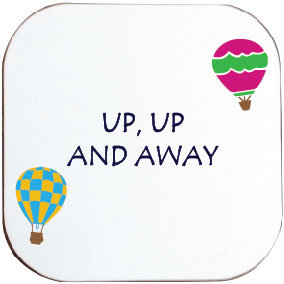 UP UP AND AWAY HOT AIR BALLOONING COASTER