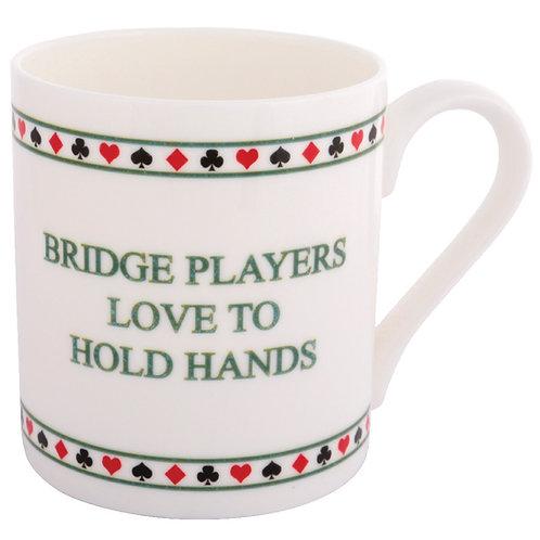 BRIDGE MUG - HOLD HANDS