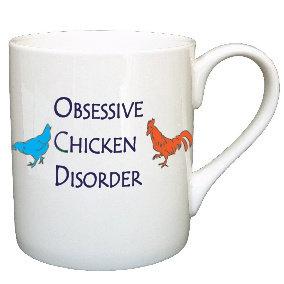 OBSESSIVE CHICKEN DISORDER MUG