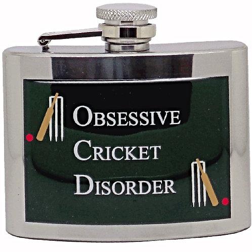 OBSESSIVE CRICKET DISORDER - HIPFLASK