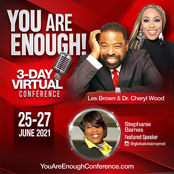 You Are Enough 3 Day Virtual Summit
