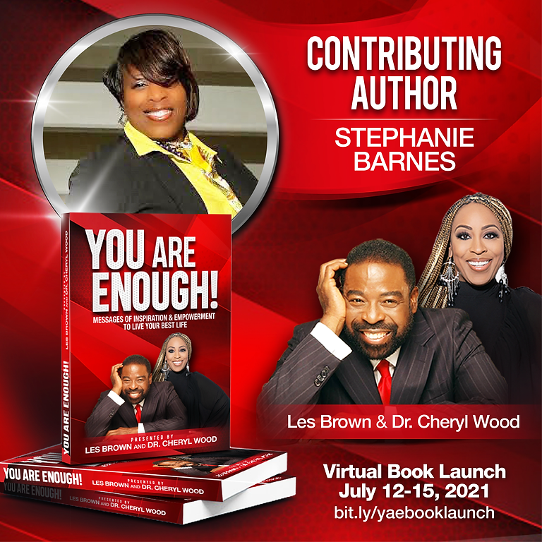 You Are Enough Virtual Book Launch