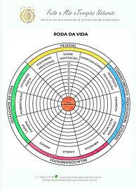 Roda da Vida, avalie as diferentes áreas da vida.