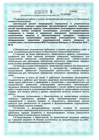 лицензия 2 лист ВЯЛЕС-КОНСАЛТ