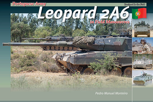 Portuguese Army Leopard 2A6 in Field Manoeuvres