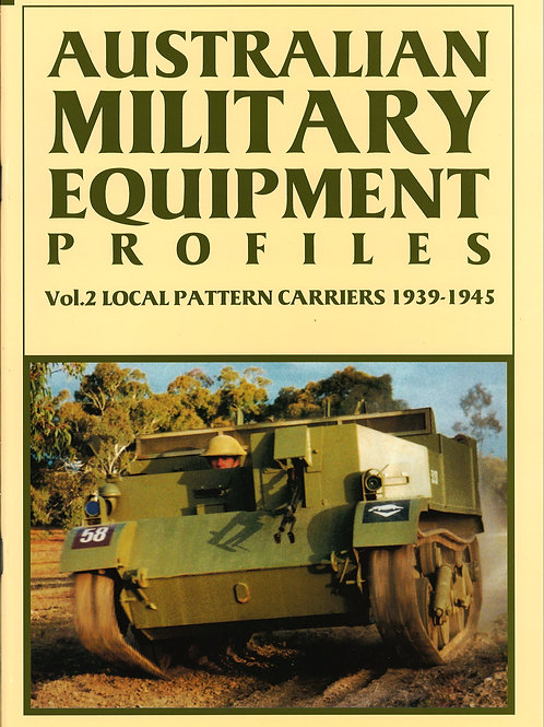 AMEP Volume 2 - Local Pattern Carriers 1939 to 1945