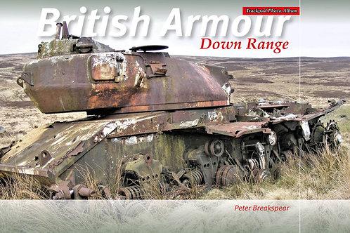 British Armour Down Range