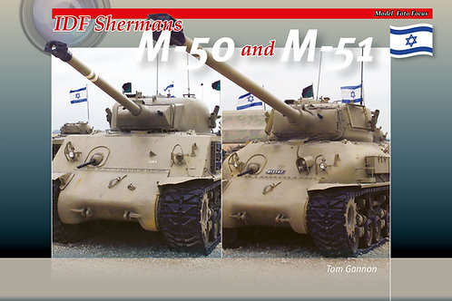 IDF Shermans M-50 and M-51