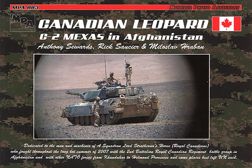 Canadian Leopard C2 MEXAS in Afghanistan