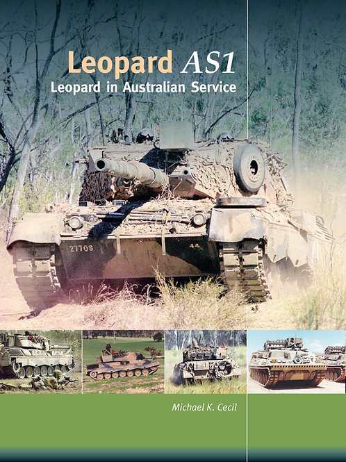 Leopard AS1 in Australian Service Hardback