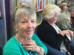 Barbara and Ann at the Launch