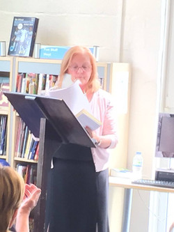Wendy Reading at the launch 3