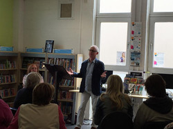 John Goodby Hosting the Launch