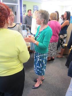 Barbara at launch
