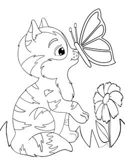 Butterfly Kisses (Kitten)