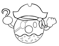 Pirate Donut