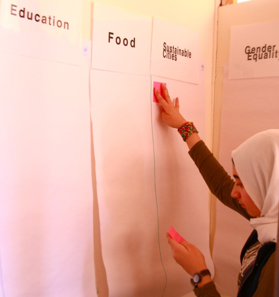Initial Design Thinking Session. Kayany Foundation's Malala 2 School, Saadnayel, Lebanon. July 10, 2017.