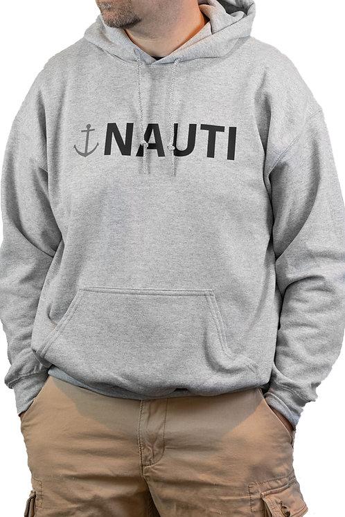 Grey Nauti Hoodie