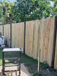 Timber fence repair