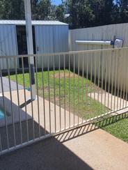 New Aluminium Fence