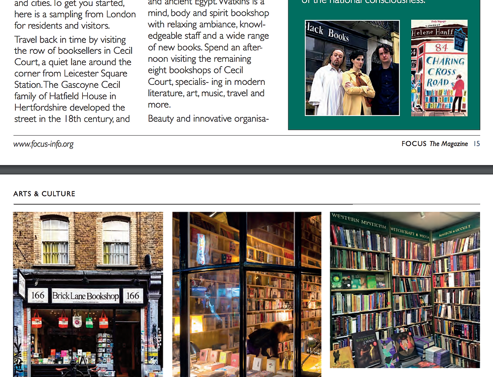 teaser book store article Focus magazine