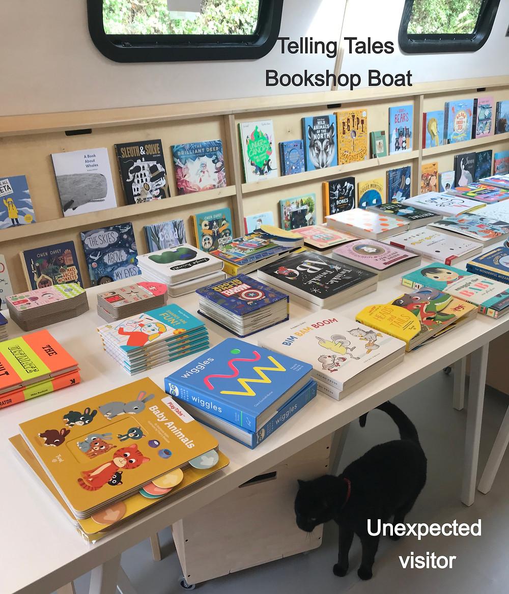 interior Telling Tales bookshop